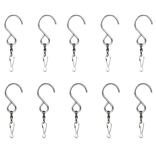 myarmor-smooth-spinning-swivel-clip-hanging-s-hooks-wind-spinner-rotate-spiral-tail-crystal-twister-