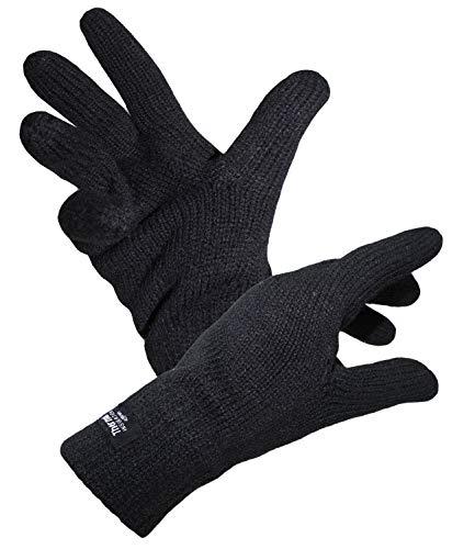 EveryHead Fiebig Damenhandschuhe Fingerhandschuhe Handschuhe Strickhandschuhe Winter mit Windstopper...