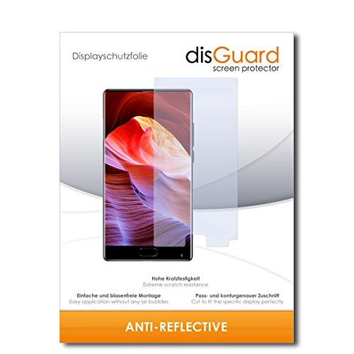 disGuard® Bildschirmschutzfolie [Anti-Reflex] kompatibel mit Bluboo S1 [2 Stück] Entspiegelnd, Matt, Antireflektierend, Extrem Kratzfest, Anti-Fingerabdruck - Panzerglas Folie, Schutzfolie