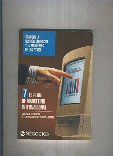 Portada del libro El plan de marketing Internacional