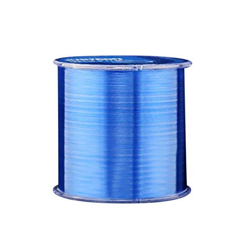 Asap chic colorato in nylon lenza resistente filo bobina 500meters monofilamento pesca competitiva fish line, blue, 5