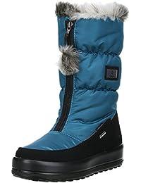 Vista Damen Mädchen Winterstiefel Snowboots türkis