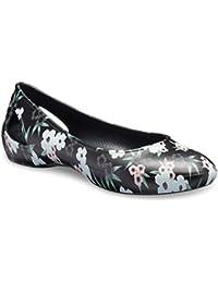 crocs Women's Laura Printed Flat W Ballet