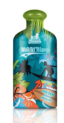 Hawaiiana Waikiki Wave - Golden Dark Bronzer, 1er Pack (1 x 200 ml) (Tan Lotion Tanning California)