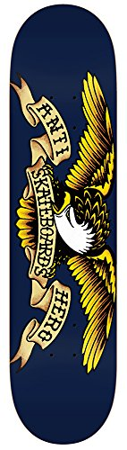 Anti Hero Skateboard Decks - Anti Hero Classic Eagle Skateboard Deck - 8.5 Inch (Skateboard Anti)