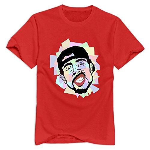 KST - T-shirt - Homme -  Marron - Medium