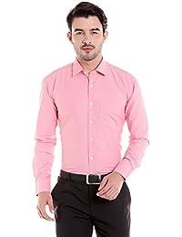 Donear NXG Mens Formal Shirt_SHIRT-1334-RED