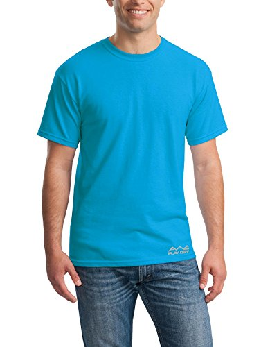 AWG Men's Jersey Round Neck Dryfit T-shirt - Turquoise Green - AWGDFT-GRE-XXXL  available at amazon for Rs.199