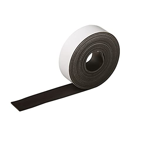 Silverline 703514 Self-Adhesive Magnetic Tape 25mm x