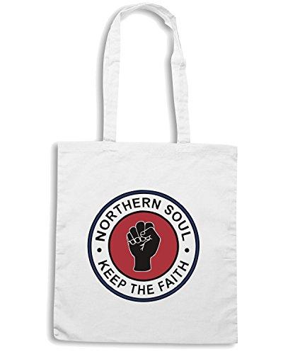 T-Shirtshock - Borsa Shopping WC0524 Northern Soul Bianco