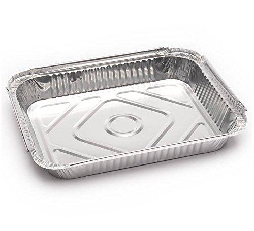 Chiner - Bandeja aluminio rectangular 890 ml. 100