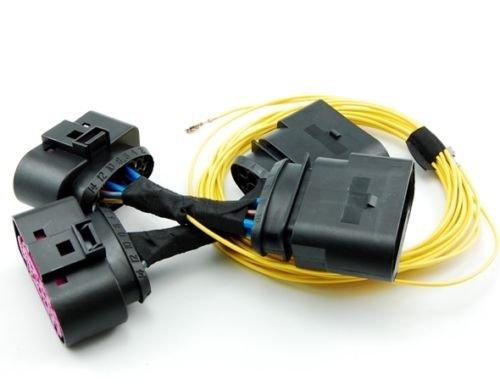 Preisvergleich Produktbild Xenon Bi-Xenon Scheinwerfer Adapter Kabelbaum Kabel SET für Frontscheinwerfer Links + Rechts