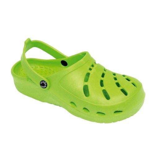 Verdemax 2170Größe 41-42gelocht Clog-Lime Grün - Lime Grün Clogs