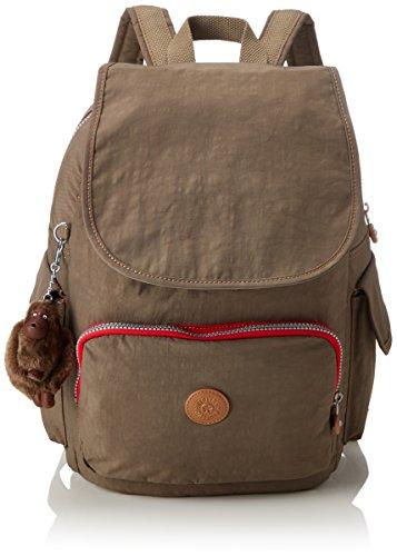 Kipling Damen City Pack Rucksack, Braun (True Beige C), 32x37x18.5 cm -