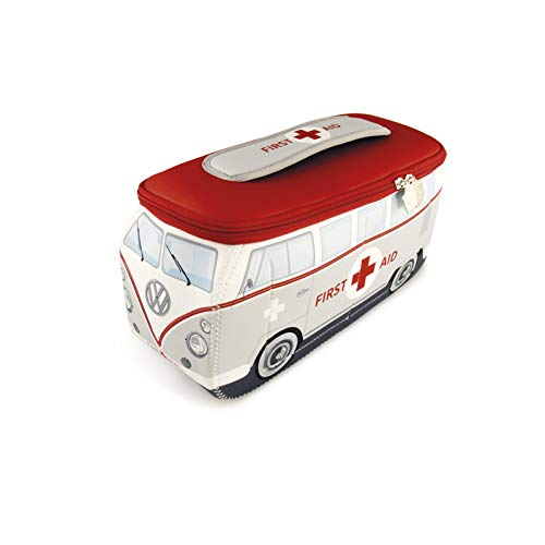BRISA VW Collection VW T1 Bulli Bus 3D Neopren Mäppchen - First Aid