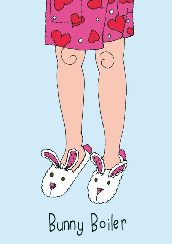 Wenn der Schuh passt | Bunny Boiler–blanko (Passt Bunny)