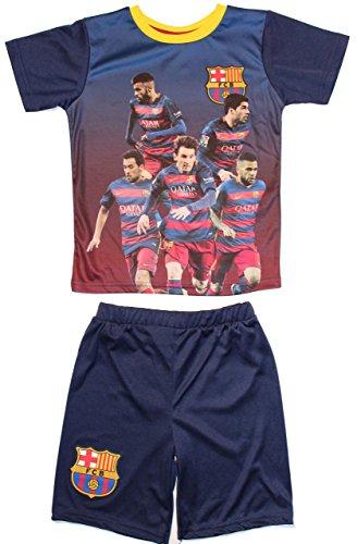 FC Barcelona - Conjunto - para niño azul oscuro 116 cm