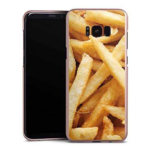 DeinDesign Hülle kompatibel mit Samsung Galaxy S8 Plus Handyhülle Case Pommes Chips Fritten