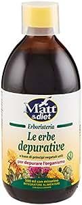 Matt&Diet Le Erbe Depurative - 500 ml