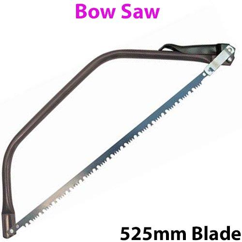 525 mm Nœud en lame de coupe en dents de scie – Ensemble – À découper jardinage branches Arbre/Bush Poêle à bois – Coupe d'élagage brindilles – Cablefinder
