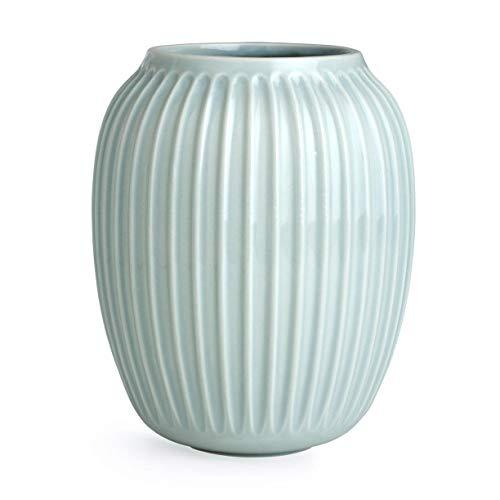 Kähler 15383 Hammershøi - Vase/Blumenvase - Keramik - Mint Ø 16,5 cm - Höhe 20 cm