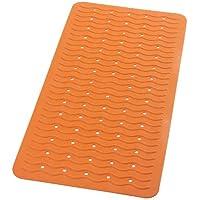Ridder 683140-350 Playa - Alfombrilla de bañera (38 x 80 cm), color naranja