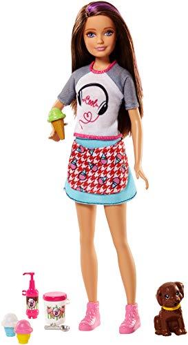 Barbie FHP62 Cooking & Baking Skipper Puppe & Zubehör, bunt (Skipper-barbie-puppe Kleidung)