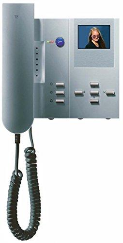 TCS IMM1300-0144 Video color Innenstation mit Hörer 4 + 5 Tasten IMM1300 silver