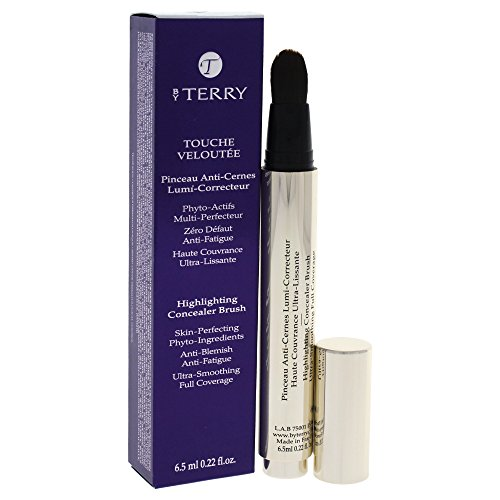 By Terry - Touche Veloutee Highlighting Concealer Brush - # 02 Cream 6.5Ml/0.22Oz - Maquillage