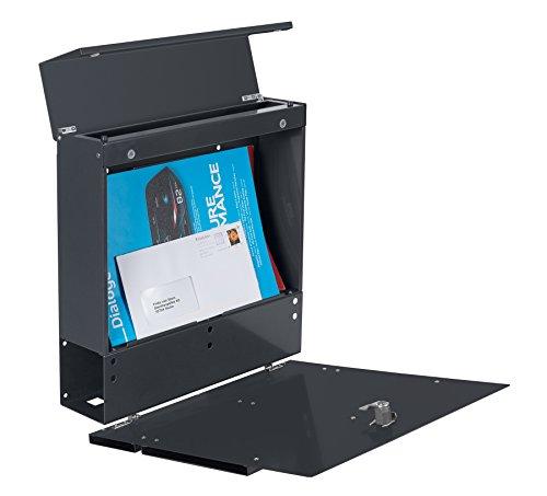 Frabox LENS Briefkasten Anthrazitgrau Design - 5