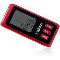 Daffodil HPC650R Contapassi multifunzione - Coach personale elettronico - Pedometro preciso con memoria interna di 7 giorni, calcola le calorie bruciate e il progresso giornaliero