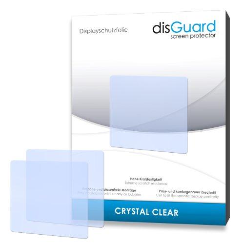 disGuard® Bildschirmschutzfolie [Crystal Clear] kompatibel mit Simvalley Mobile PW-315.touch [4 Stück] Kristallklar, Transparent, Unsichtbar, Extrem Kratzfest, Anti-Fingerabdruck - Panzerglas Folie, Schutzfolie