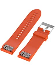 WEINISITE 20mm Silicone Ajustable Remplaçant Bracelet Pour Garmin Fenix 5S GPS Watch