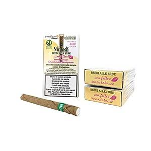 Nirdosh – Zigaretten mit Kräutern, um mit dem Rauchen aufzuhören – 3 Packungen Zigaretten mit ayurvedischen Kräutern – Frei von Nikotin, Tabak, Papier – mit Filter – Medizinprodukt