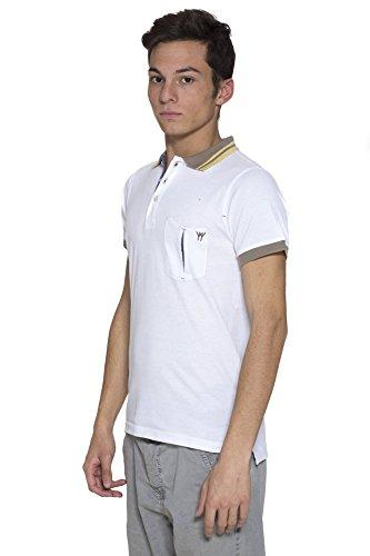 PRIMO EMPORIO Herren Poloshirt 2003010 weiß BIANCO