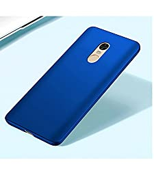 All Sides Protection 360 Degree Sleek Rubberised Matte Hard Case Back Cover For Redmi Note 4