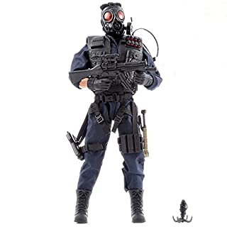 World Peacekeepers SWAT Military Action Man Figure | 30,5cm Tall | 1:6 Scale | Combat Army Soldier with More than 16 Accessories | Intended for Children and Adults