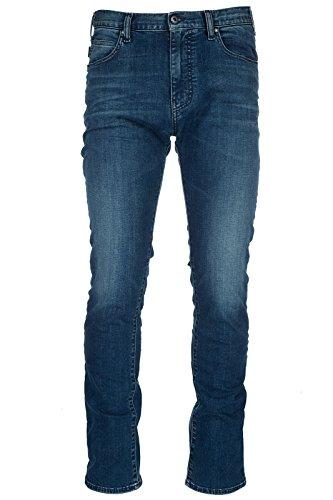 Emporio Armani vaqueros jeans denim de hombre pantalones nuevo blu EU 32 (UK 32) 3Z1J451D19Z0942