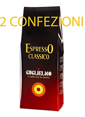Caffe Guglielmo Espresso a Chicchi 1kg x 2conf Italiano