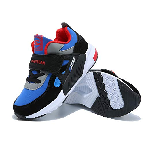 low priced c4ae9 2a2fb Kids Walking Running Shoes Breathable Casual Trainers Lightweight Athletic  Sneakers Blue