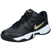 Nike Court Lite 2, Men's Shoes, Black (Black/Metallic Gold-White), 9 UK (44 EU)