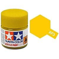 Tamiya 81703Matt Yellow Acrylic Paint Mini 10ml Bottle of Ink, XF 3