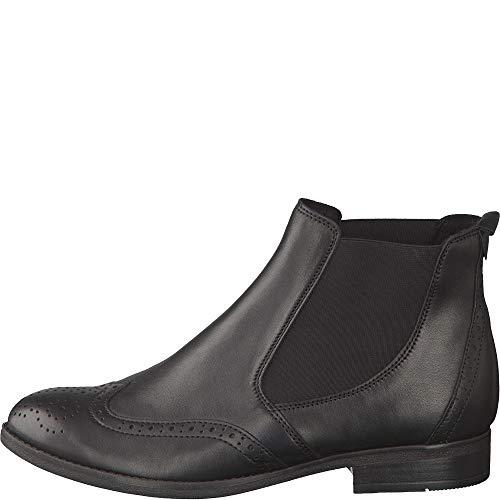 Gabor Fashion Stiefeletten in Übergrößen Schwarz 31.672.27 große Damenschuhe, Größe:42.5