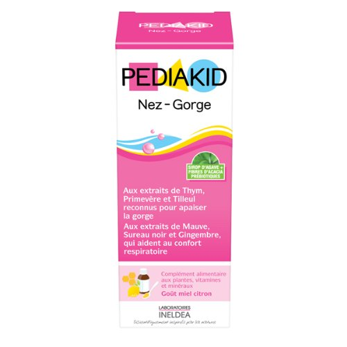 PediaKid Naso-gola sciroppo bambini gusto Miele Limone