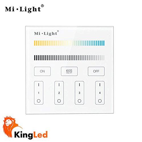 kingled-controller-da-parete-touch-multizona-dimmer-per-strisce-e-faretti-con-colorazione-di-tempera