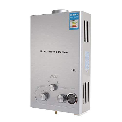 DiLiBee 24 KW 12L Natural Gas Durchlauferhitzer Warmwasserbereiter Boiler Wasserspeicher Tankless Warmwasserbereiter Wasser Wasserkocher -