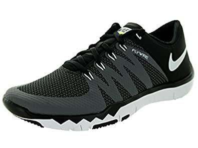 arrives 0d791 e9b27 Image Unavailable. Image not available for. Colour  Nike Free Trainer 5.0  V6 Laufschuhe black-white-dark grey-volt ...