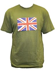 Dallaswear - T-Shirt Drapeau Union Jack Britannique Olympique