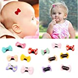 Haarspangen, für feines Haar, für Babys, Mädchen, Neugeborene, Kleinkinder, zufällige Farben, 12 Stück