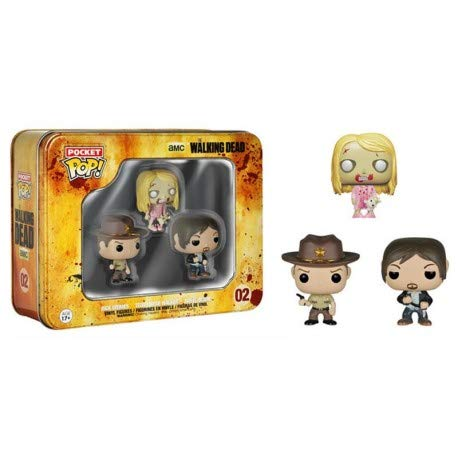 Figura Pop Walking Dead Set 3 Mini Figuras